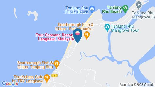 Four Seasons Resort Langkawi Map