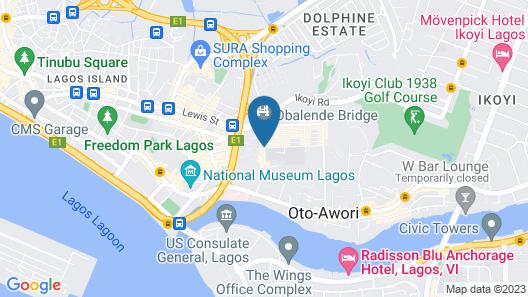 Parkview Astoria Hotel Map