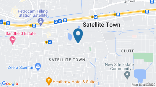 Oak Hotels Map