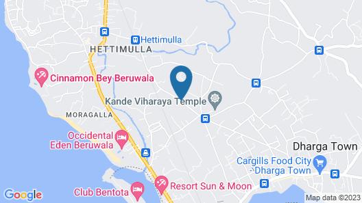 Methira Villa Map