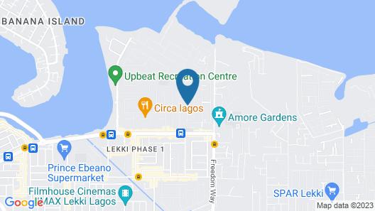 Lekki Heights Hotel Map