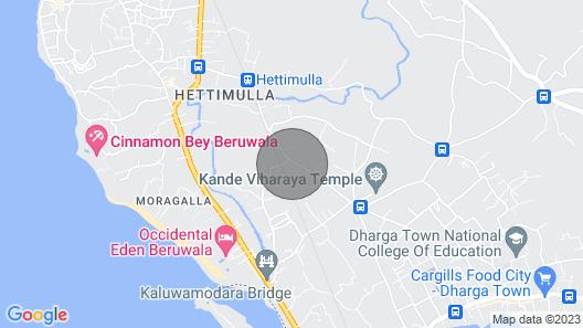 Near Bentota Beach, 8 Person Luxury Rental Villa, Private Pool, 4 Bedrooms Map