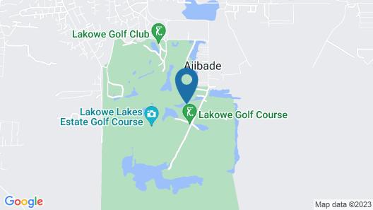 Lakowe Lakes & Golf Estate Map