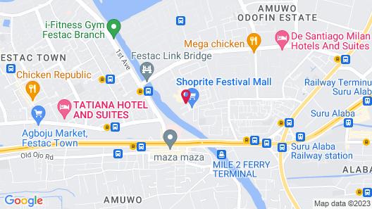 Golden Tulip Festac Lagos Map