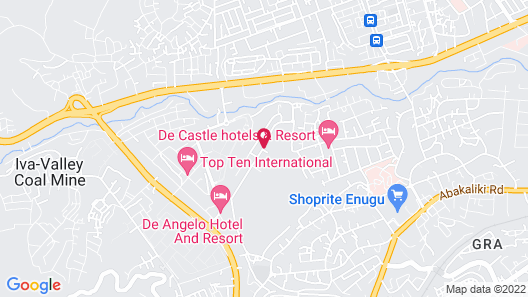Best Choice Hotel & Suites Enugu Map