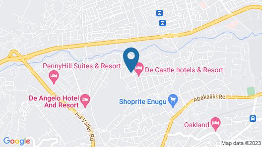 Golf Le'Meridien Hotels Map