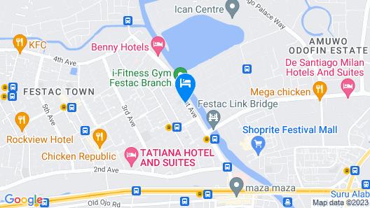 Chelsea Suites Annex Map