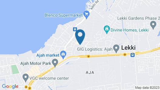 Lancaster Hotel & Suites Map