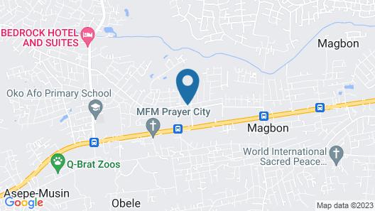 Huwuaji Apartments Map