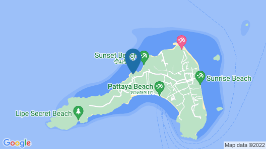 ASARA Private Beach Resort Map