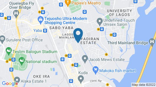 Peaceland Hotel LTD Map