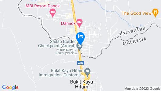 Satit Hotel Map