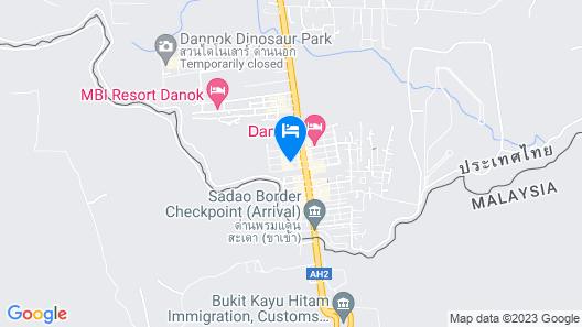 Satit Grand View Hotel Map