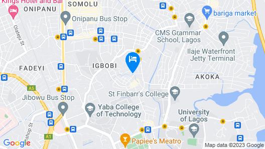 Peaceland Hotel Somulu Map