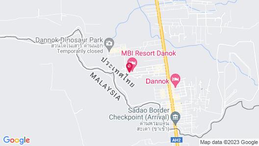 MBI Resort Songkhla Map