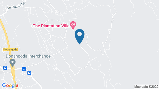 Plantation Villa Ayurveda Yoga Resort Map