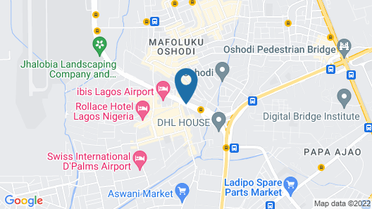 Ibis Lagos Airport Map