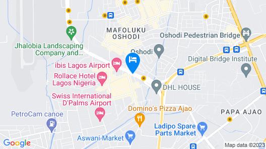 Ibis Lagos Airport Map