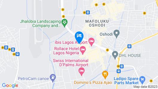 Maria Suites Map