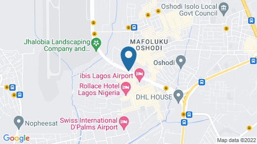 Welcome Centre & Hotels Map