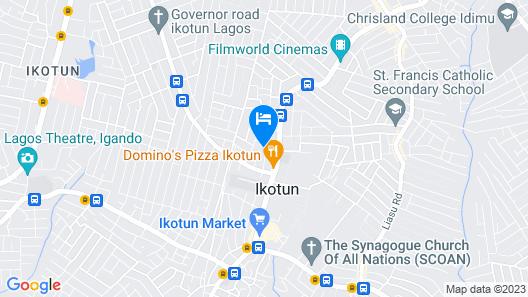 Passy Hotel Map