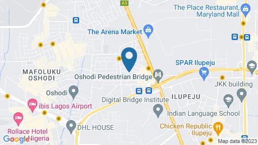 JuiceBox Private Lodge Map