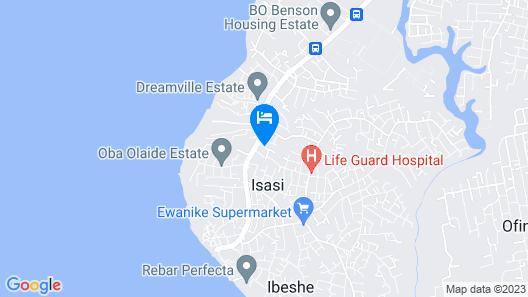 Prestige Events Centre Map