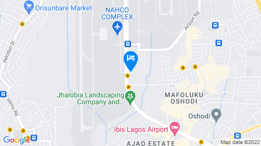 Organico House Hotel Map