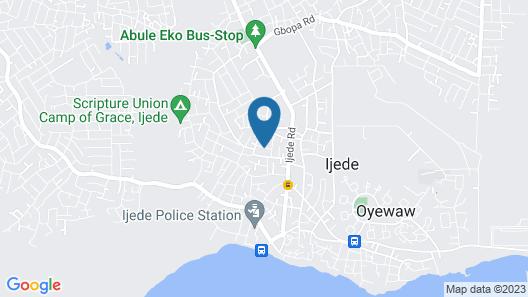 D Jos Hotel Map