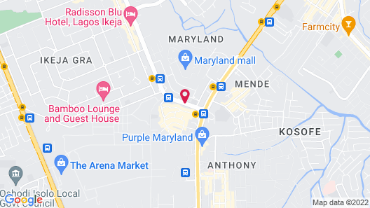 Leola Hotel lkeja Map