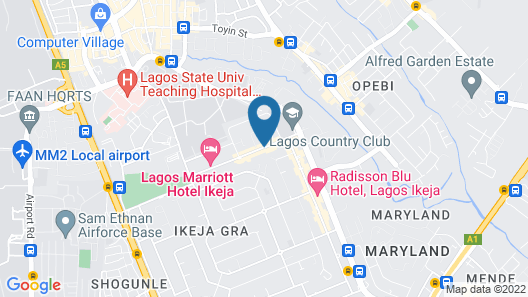 Shoregate Hotels Map