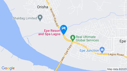 Epe Resort Map
