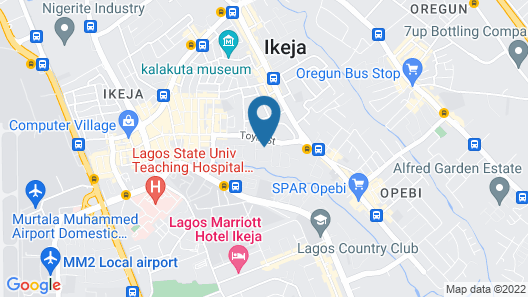 OZIN GUEST HOUSE Map