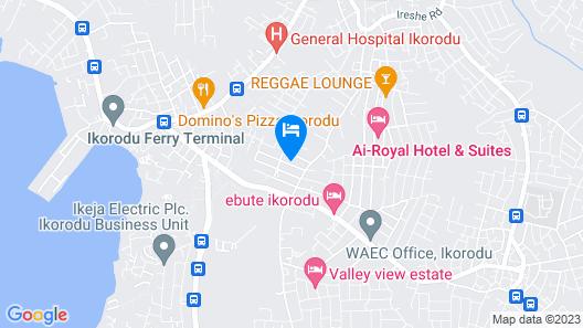 Samelot Hotel & Hall Map