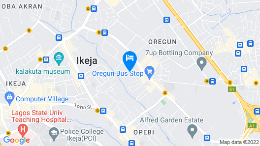 C.G. Apartments Map