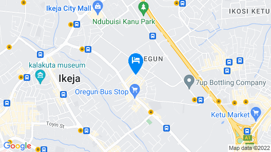 Esado Conference Centre and Suites Map