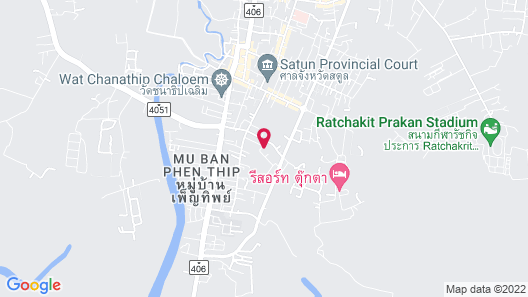Thawan Apartment Map