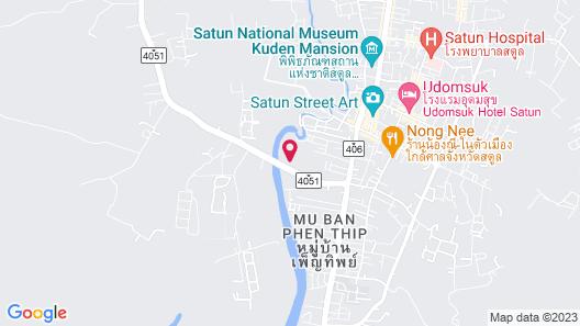 Satun Boutique Resort Map