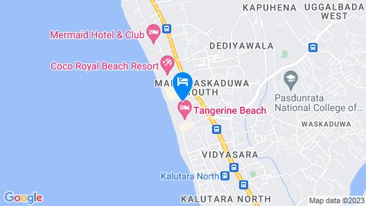 Royal Palms Beach Hotel Map