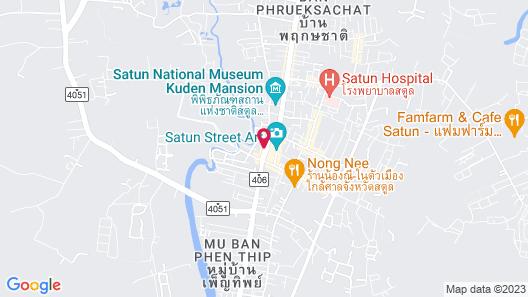 Sinkiat Thani Hotel Map