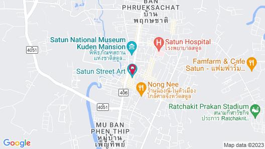 Naris Phuview Resort Map