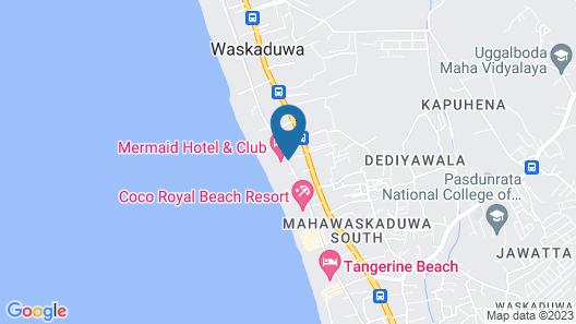 Mermaid Hotel & Club Map