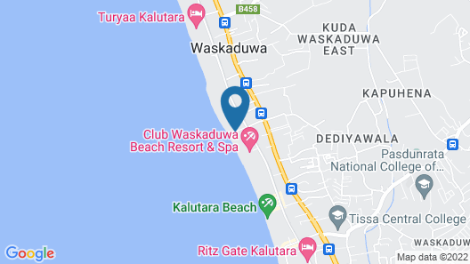 Ralla Beach Resort Map