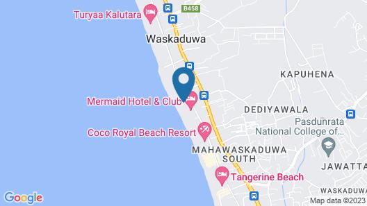Seasand Villa Map