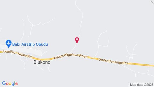 Obudu Mountain Resort Map