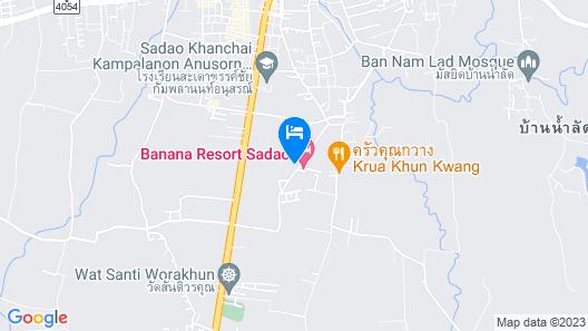 Banana Resort Sadao Map