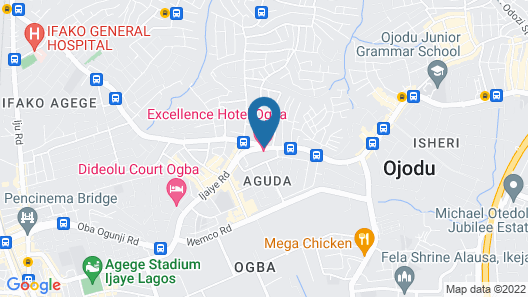 Excellence Hotel Map