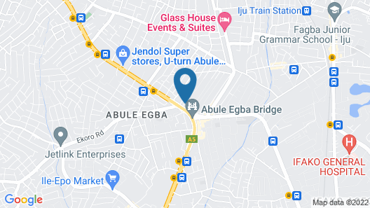 Emars Hotel & Suites Map