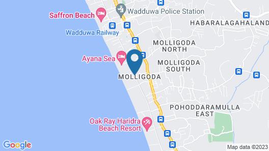 Ayana Sea Map