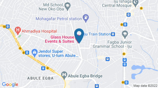 Glasshouse Hotel and Suites Map